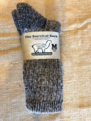 Survial Sock $21.00